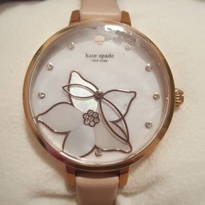 NWT Kate Spade Floral Watch